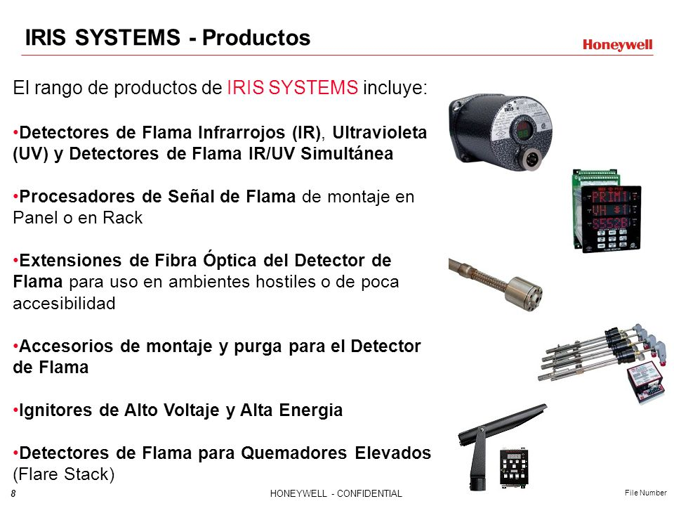 IRIS SYSTEMS - Productos