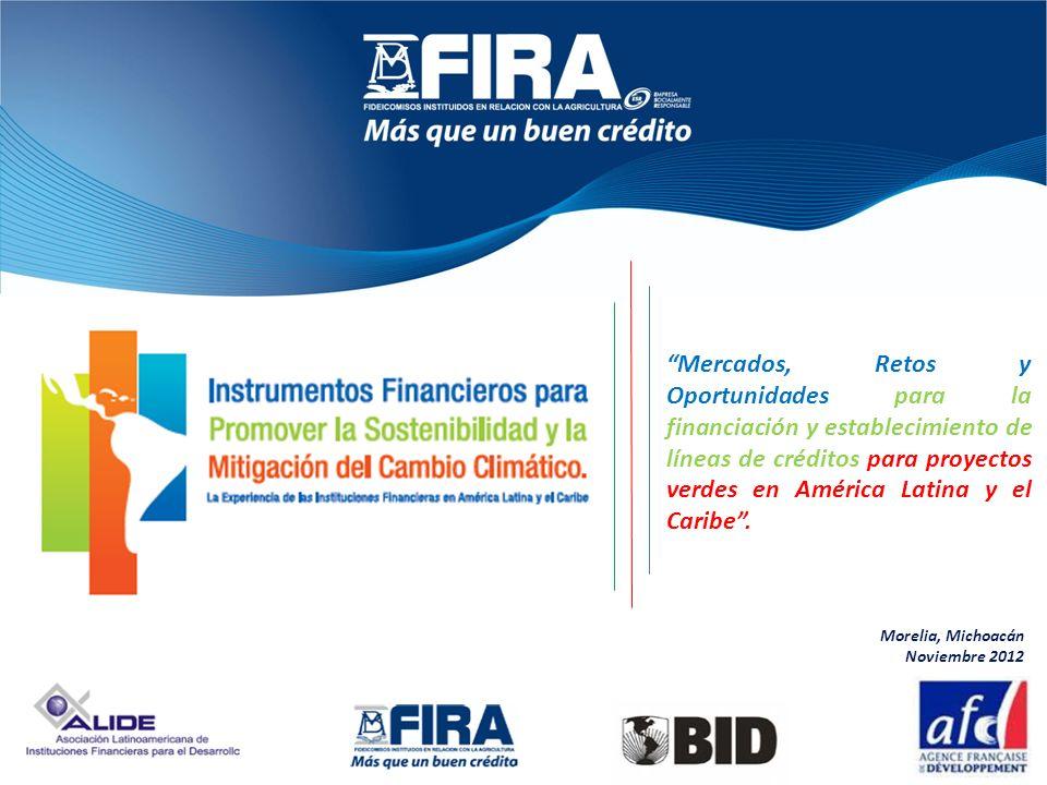 Mercados, Retos y Oportunidades para la financiación y establecimiento de líneas de créditos para proyectos verdes en América Latina y el Caribe .