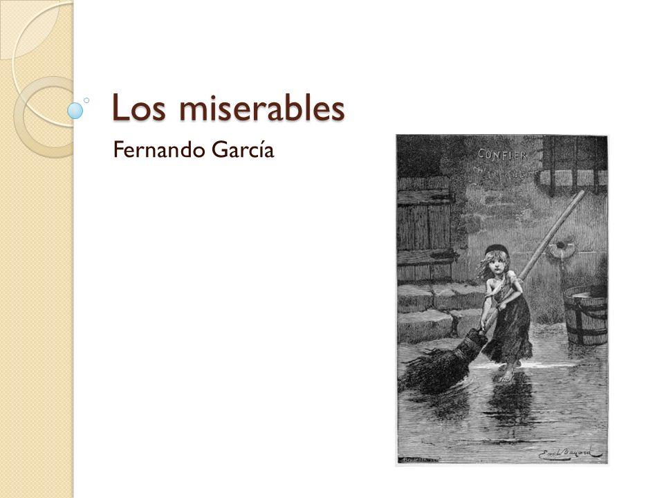 Los miserables Fernando García
