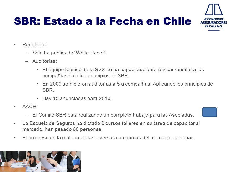 SBR: Estado a la Fecha en Chile