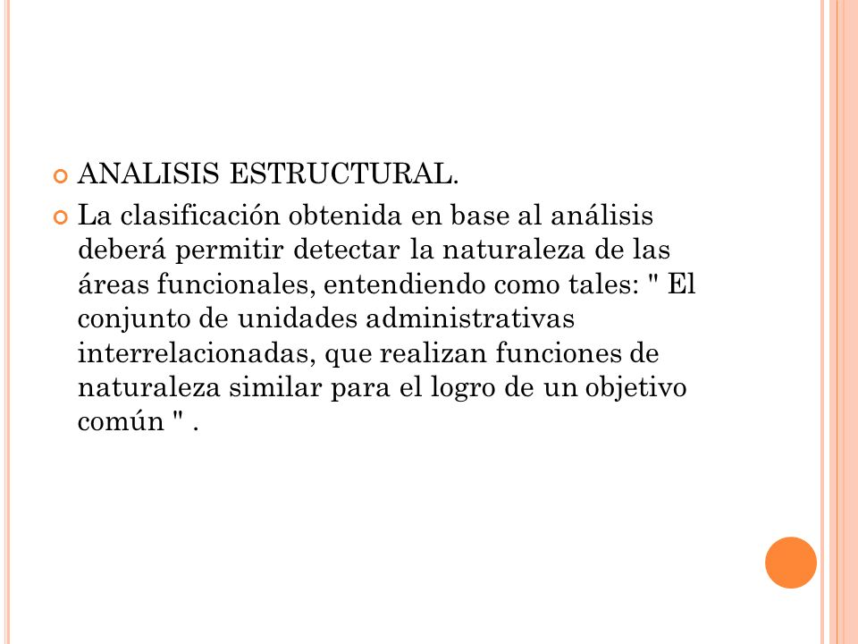 ANALISIS ESTRUCTURAL.