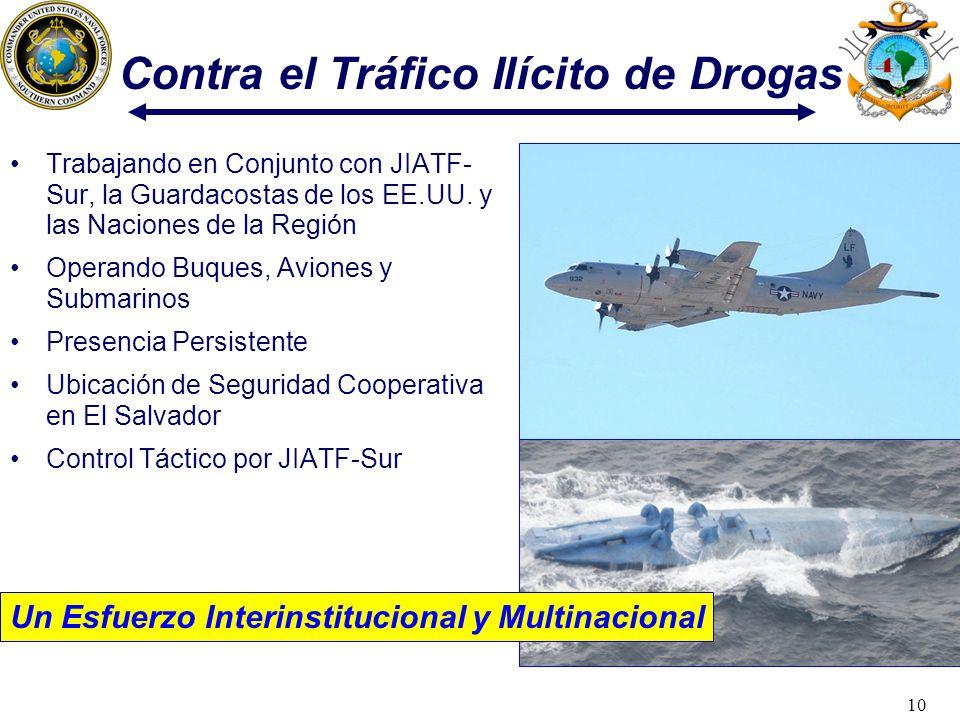 Contra el Tráfico Ilícito de Drogas
