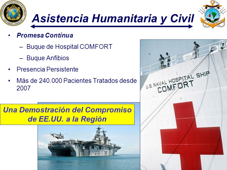 Asistencia Humanitaria y Civil
