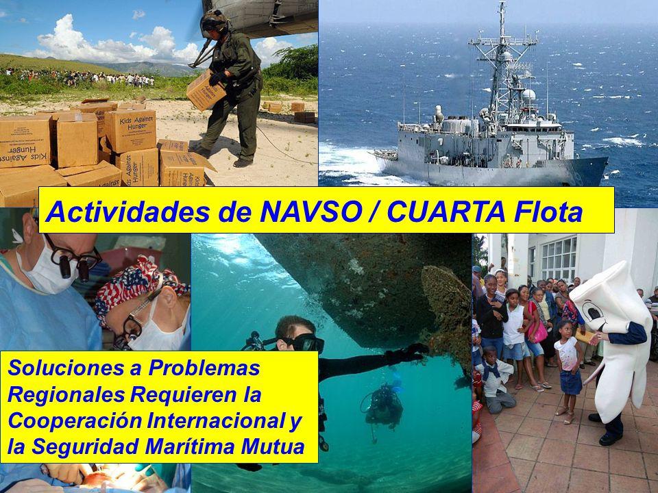 U.S. Naval Ac Actividades de NAVSO / CUARTA Flota