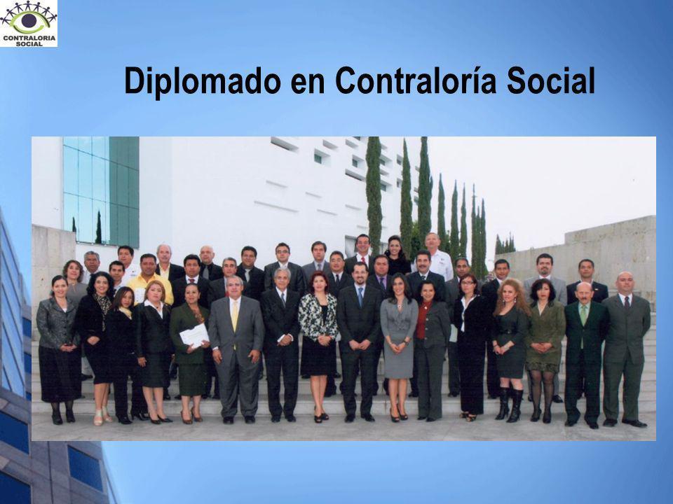Diplomado en Contraloría Social