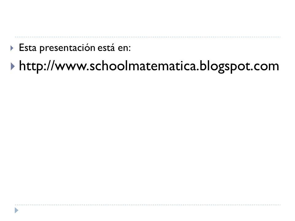 Esta presentación está en: