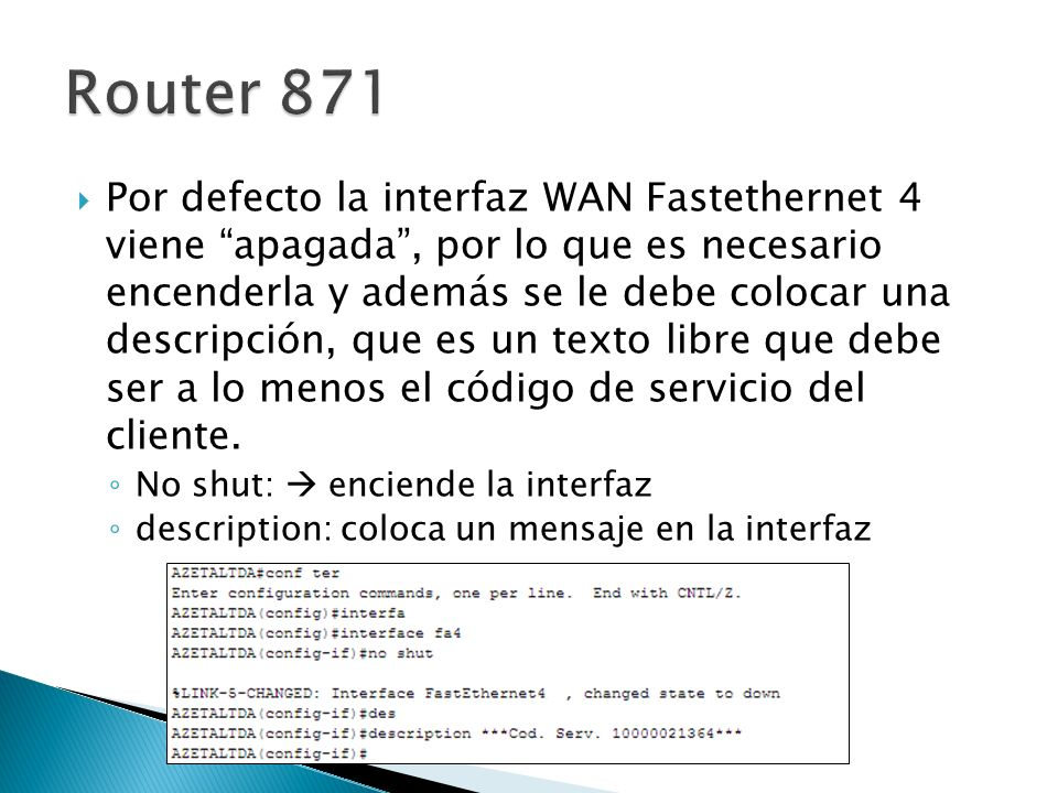 Router 871