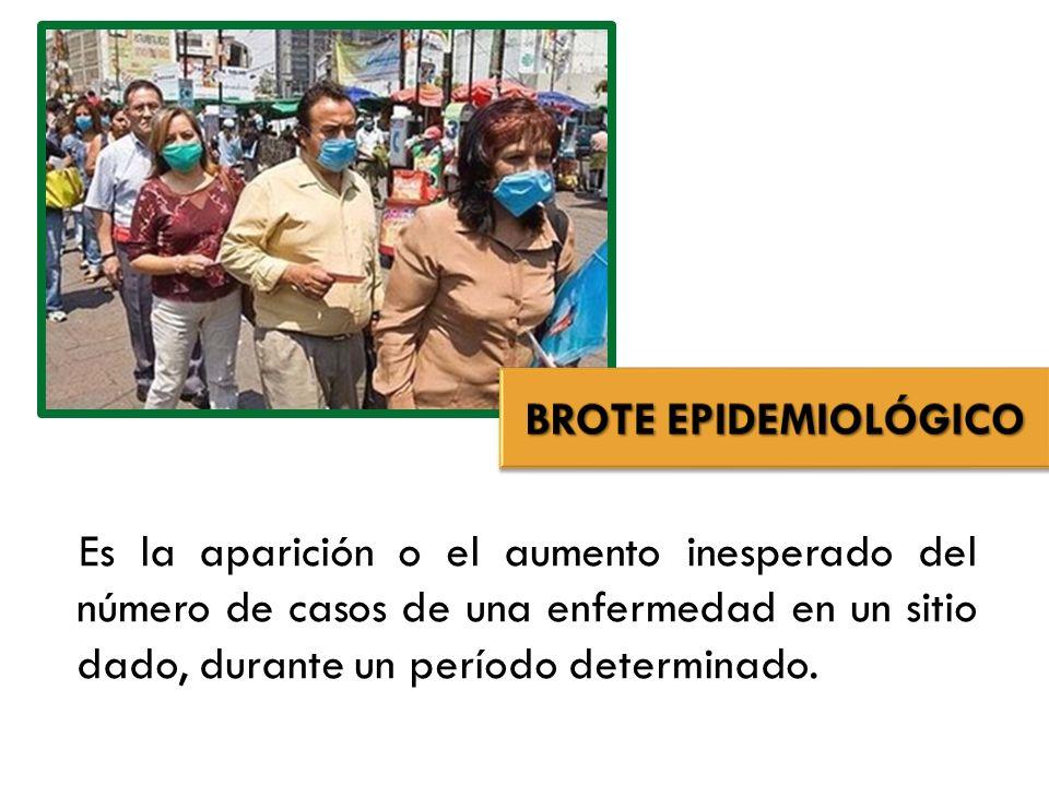 BROTE EPIDEMIOLÓGICO