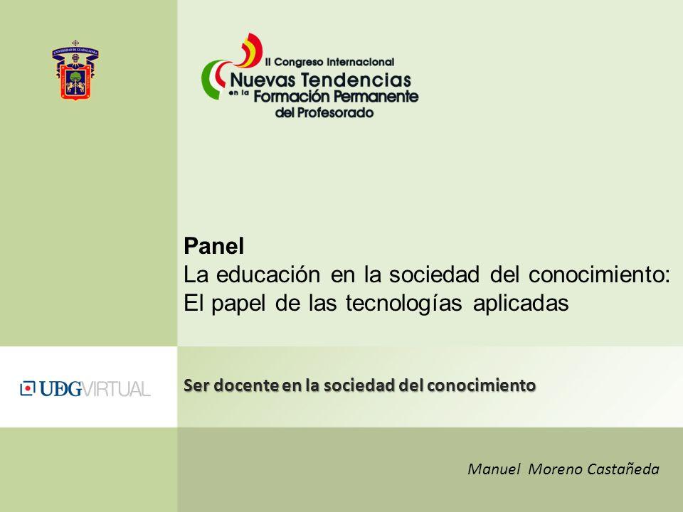 La educación en la sociedad del conocimiento: