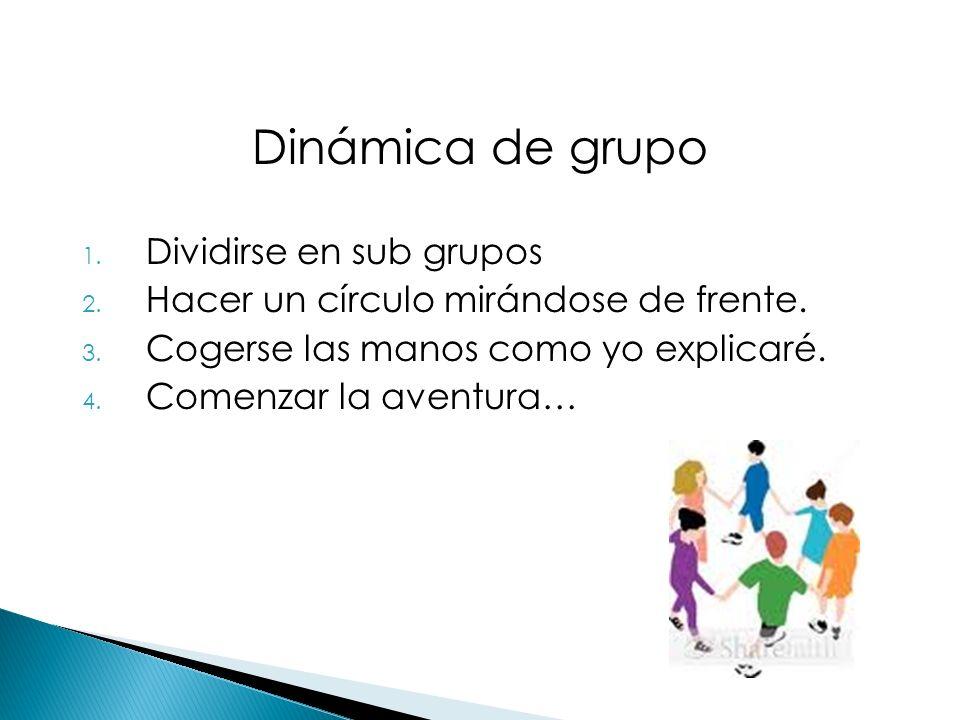 Dinámica de grupo Dividirse en sub grupos