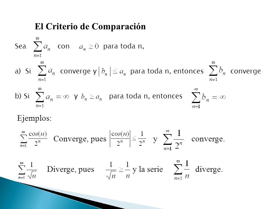 El Criterio de Comparación