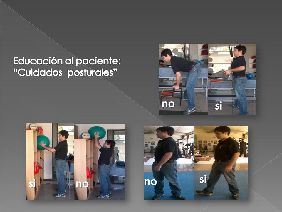 Educación al paciente:
