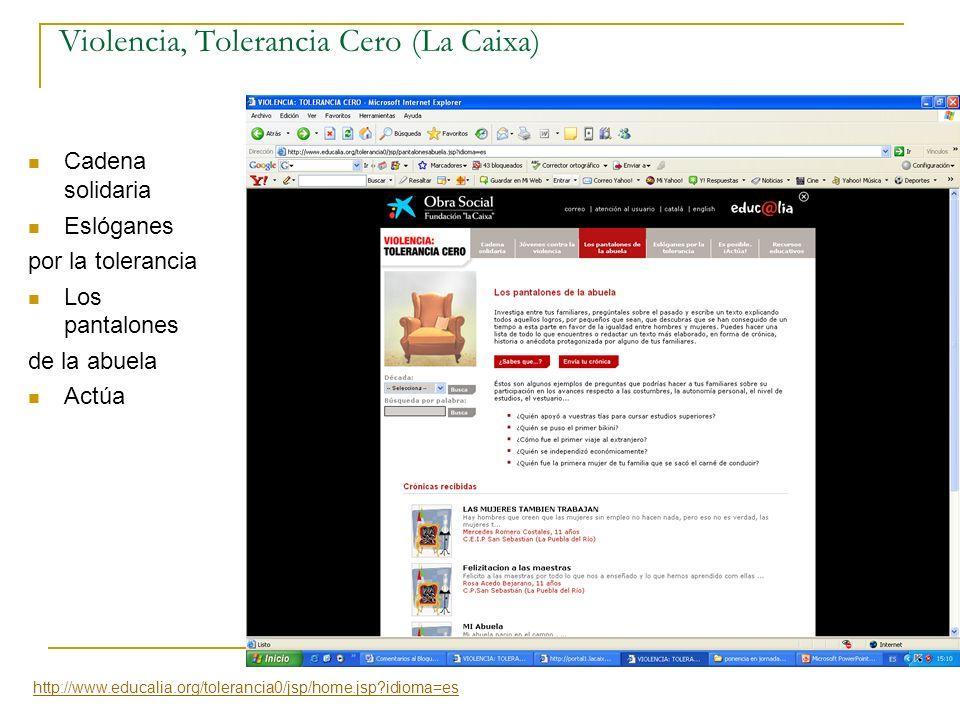 Violencia, Tolerancia Cero (La Caixa)