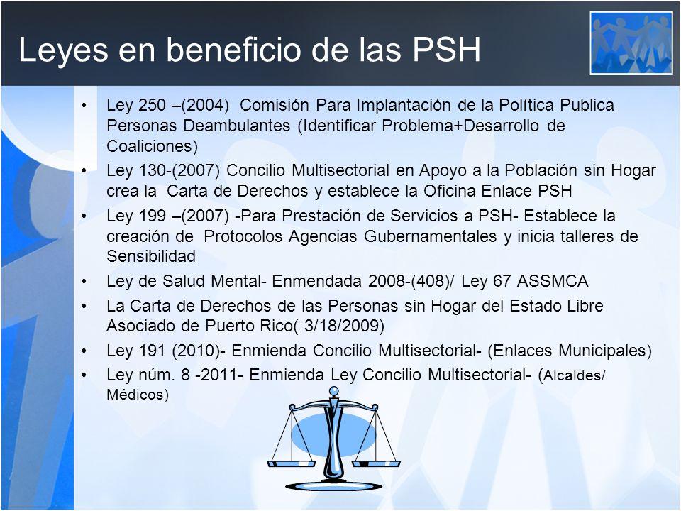 Leyes en beneficio de las PSH