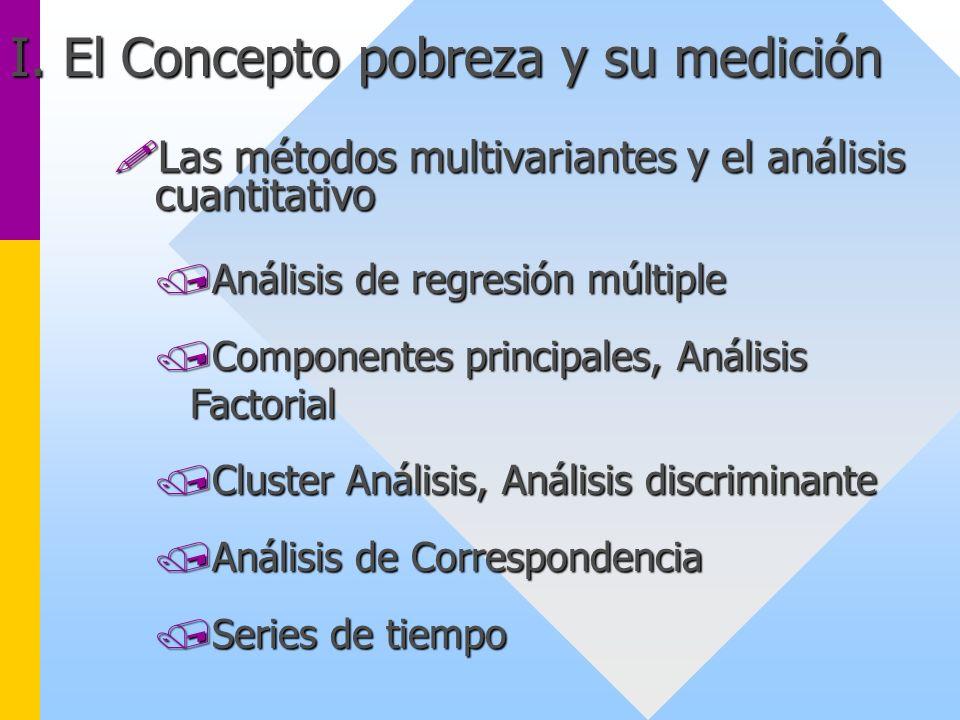 Las métodos multivariantes y el análisis cuantitativo