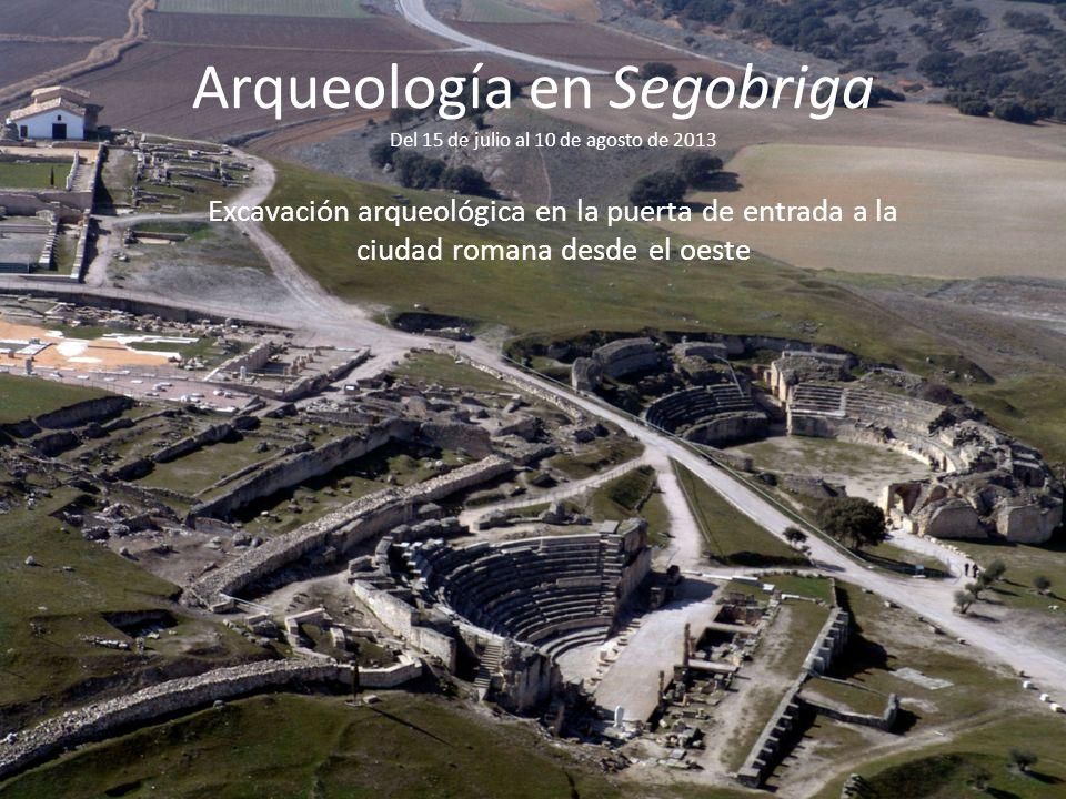 Arqueología en Segobriga