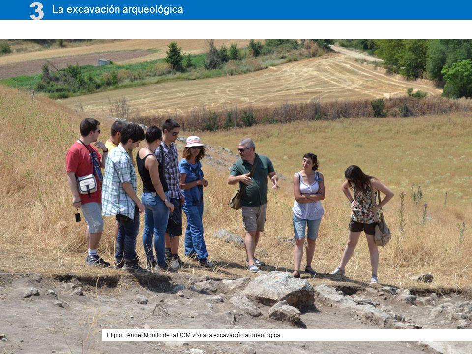 3 La excavación arqueológica