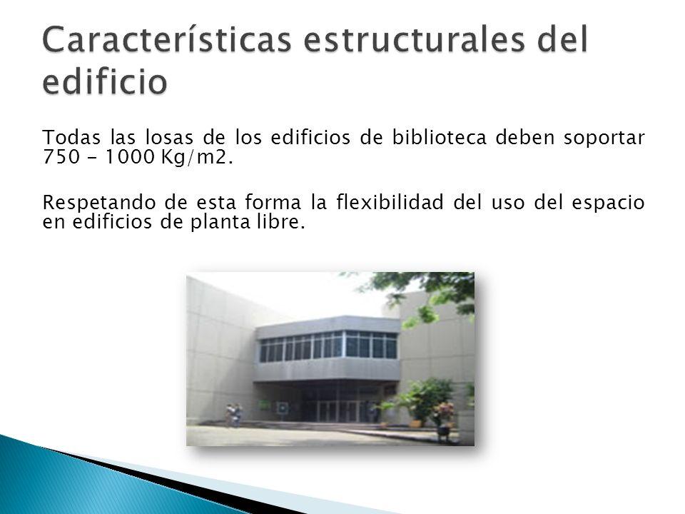 Características estructurales del edificio