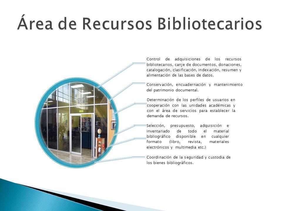 Área de Recursos Bibliotecarios