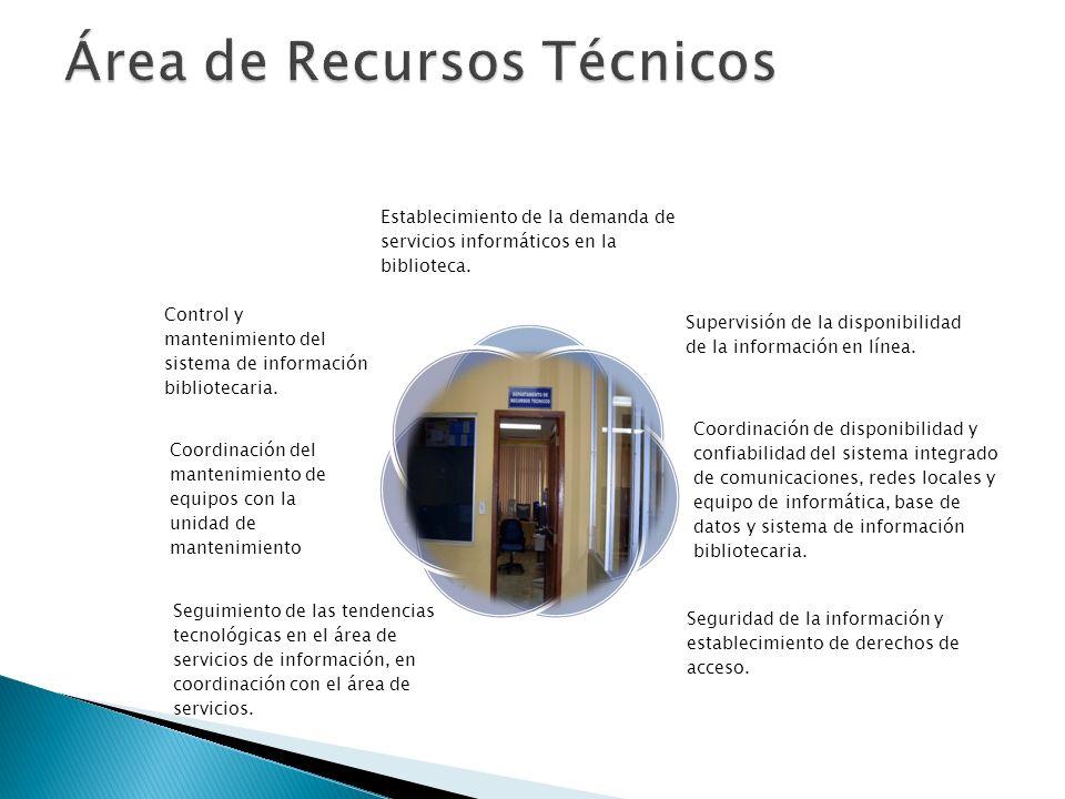 Área de Recursos Técnicos