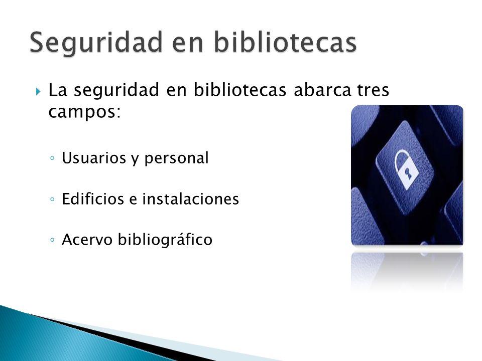 Seguridad en bibliotecas