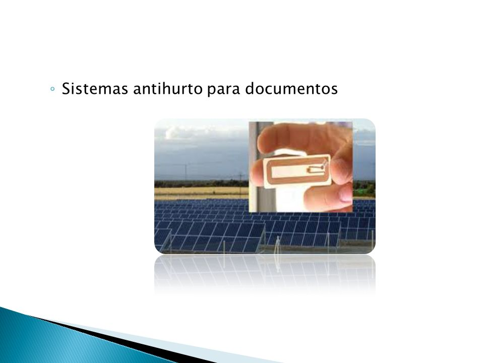 Sistemas antihurto para documentos