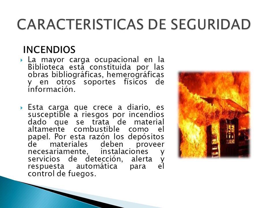 CARACTERISTICAS DE SEGURIDAD