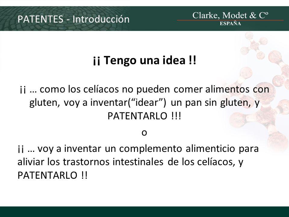 PATENTES - Introducción