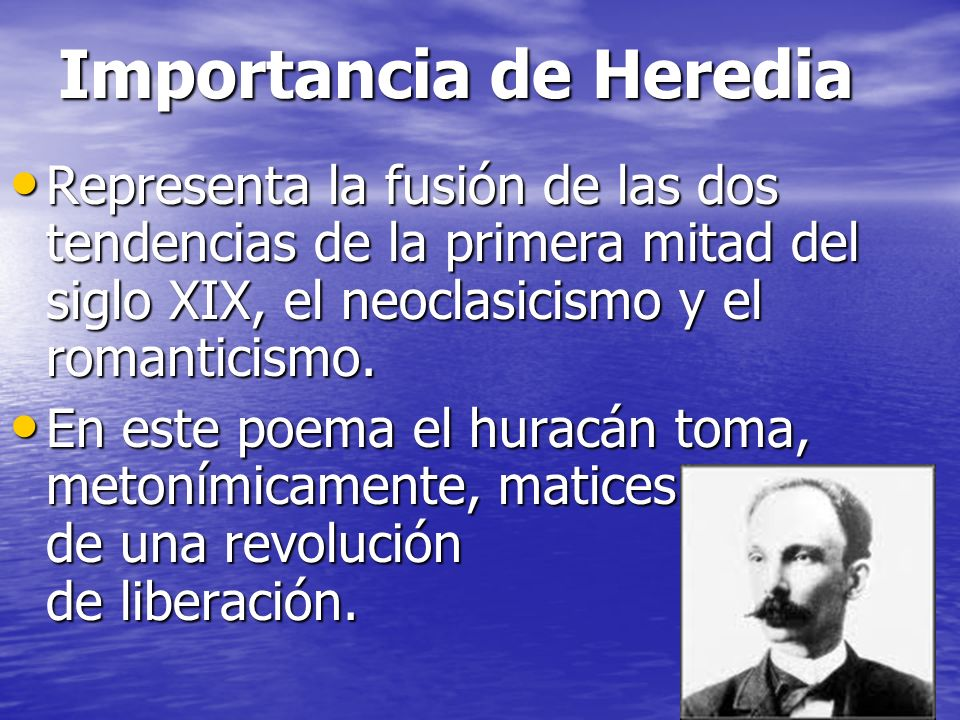 Importancia de Heredia
