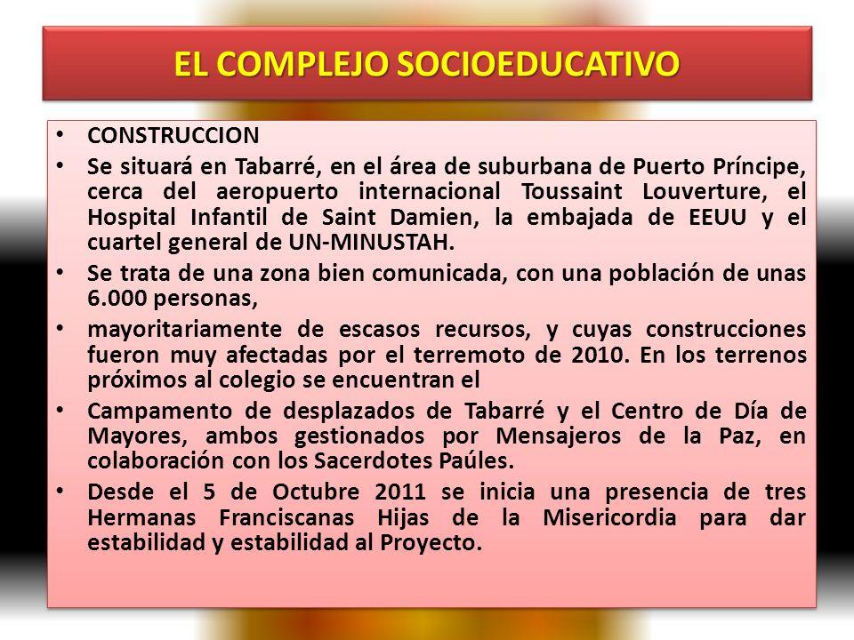 EL COMPLEJO SOCIOEDUCATIVO