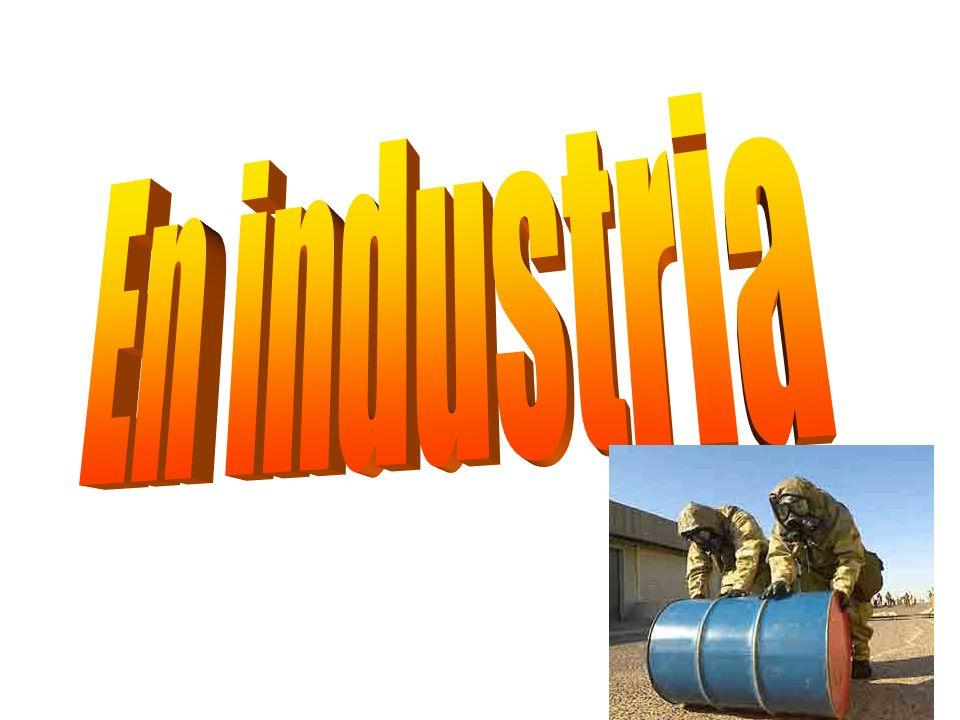 En industria