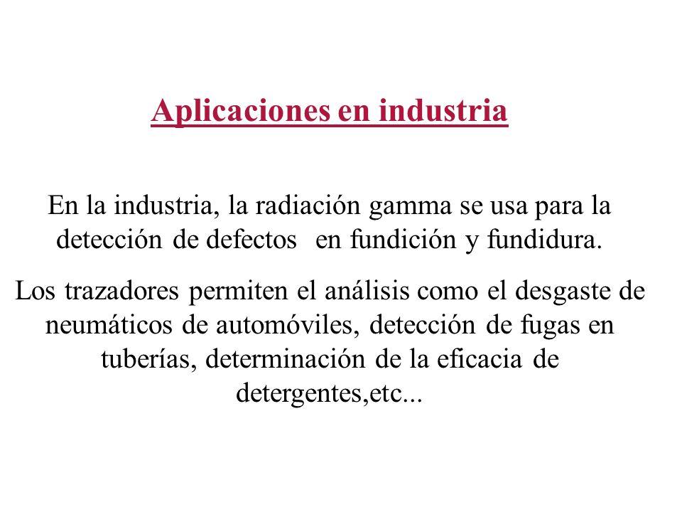 Aplicaciones en industria
