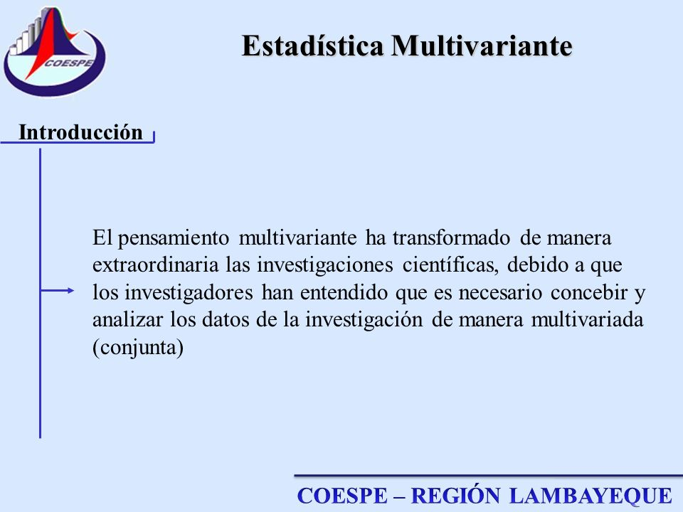 Estadística Multivariante