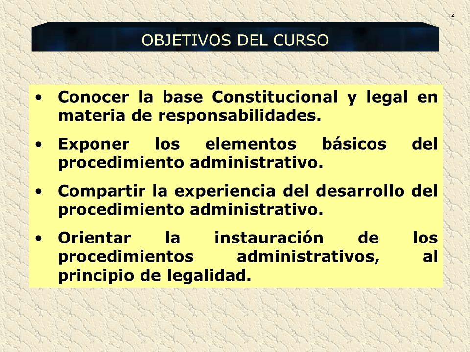 Exponer los elementos básicos del procedimiento administrativo.