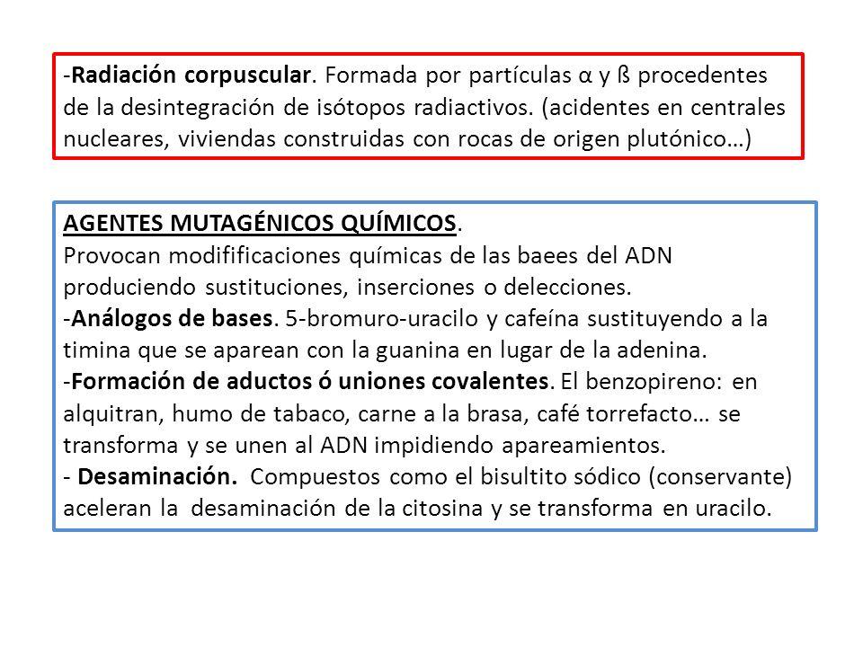 Radiación corpuscular