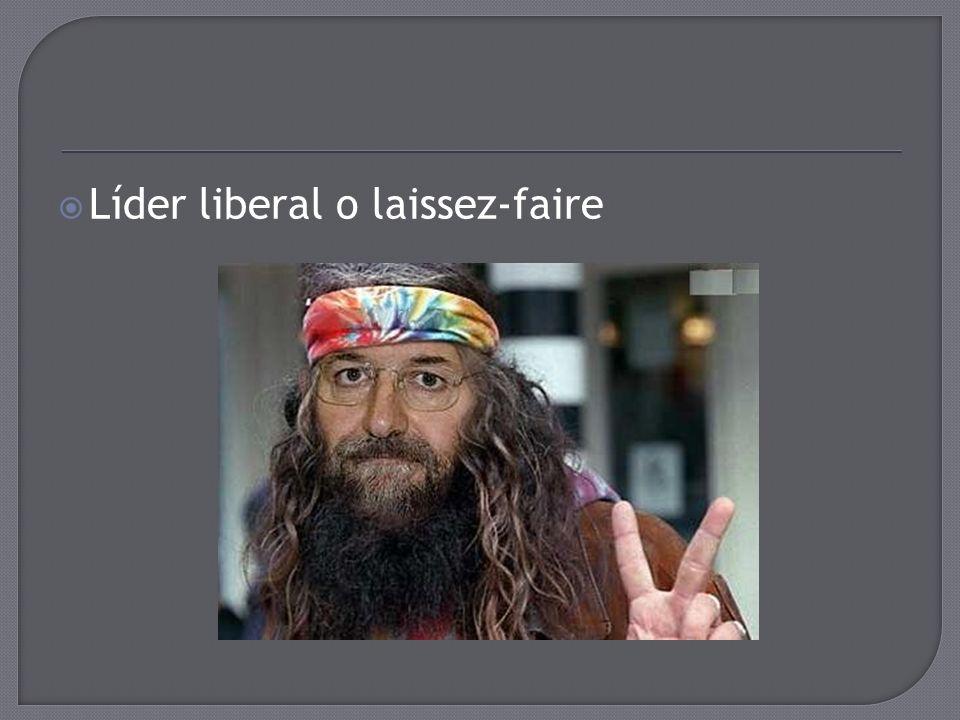 Líder liberal o laissez-faire