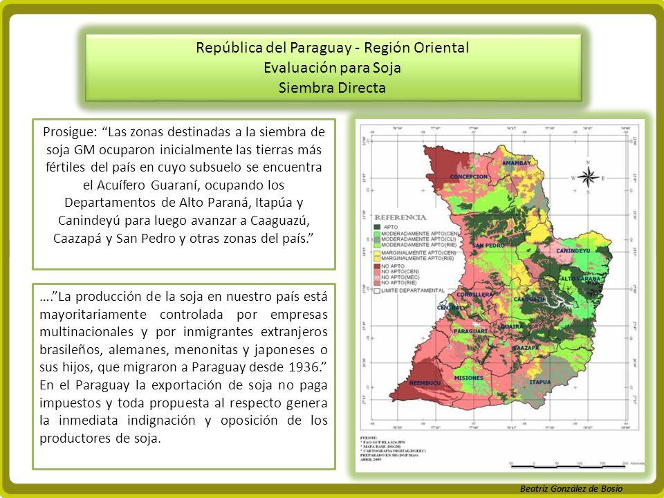 República del Paraguay - Región Oriental