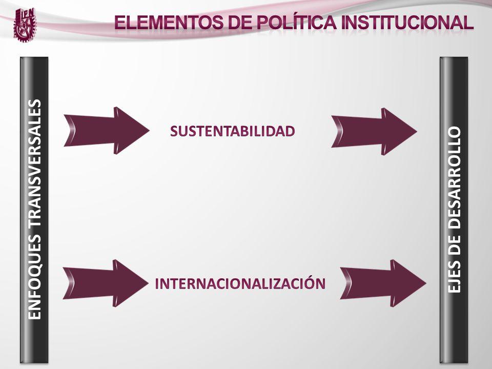 ENFOQUES TRANSVERSALES INTERNACIONALIZACIÓN