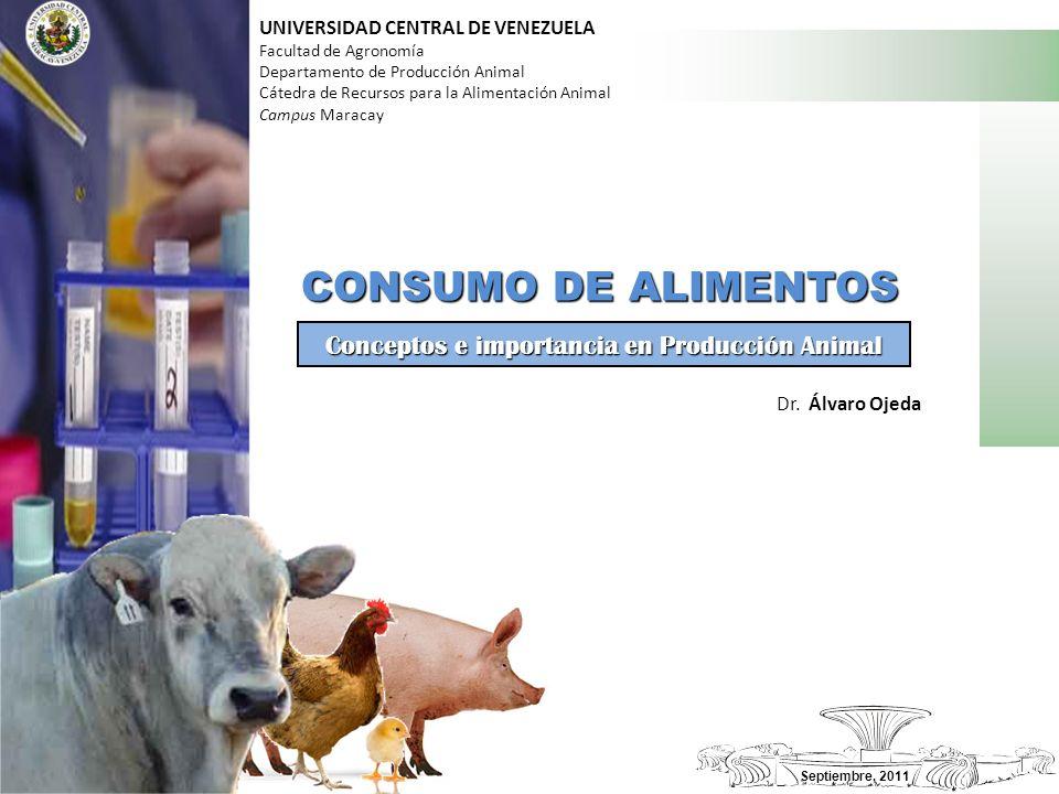 Conceptos e importancia en Producción Animal