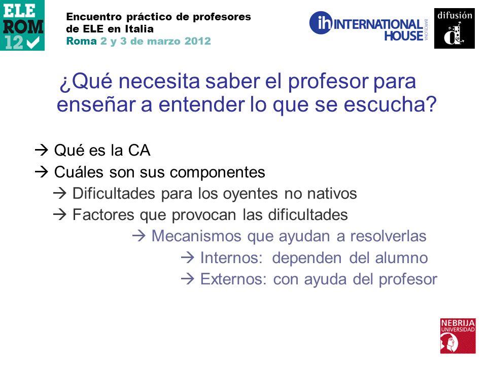 Encuentro práctico de profesores de ELE en Italia