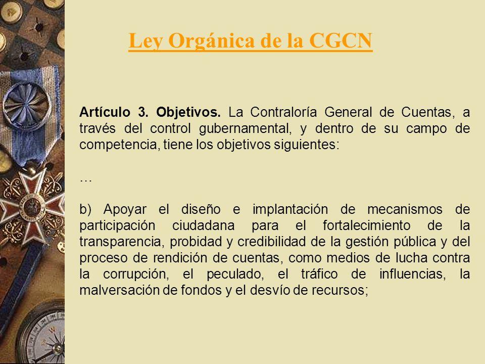 Ley Orgánica de la CGCN
