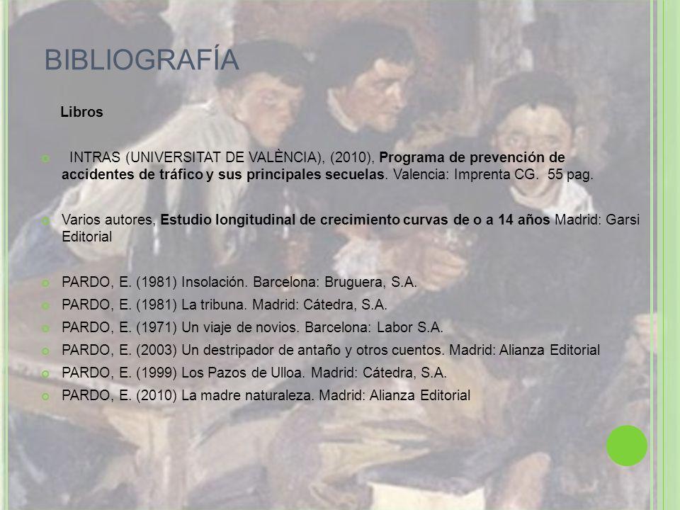BIBLIOGRAFÍA Libros.