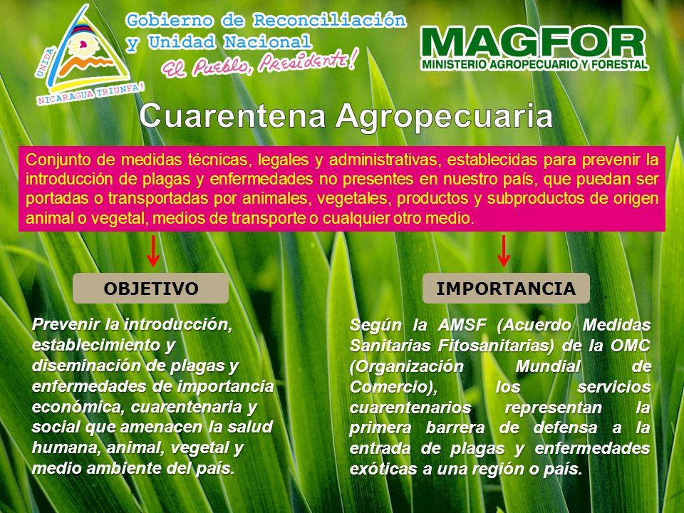 Cuarentena Agropecuaria