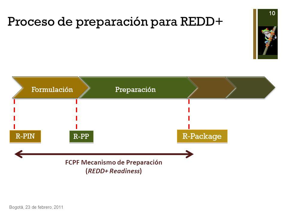 Proceso de preparación para REDD+