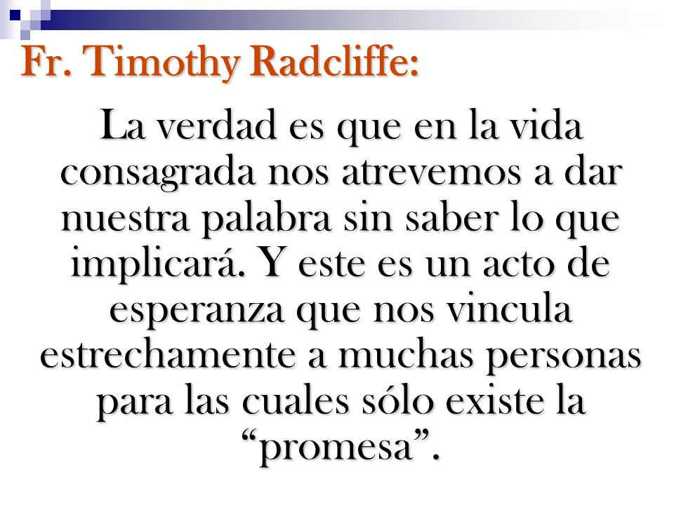 Fr. Timothy Radcliffe: