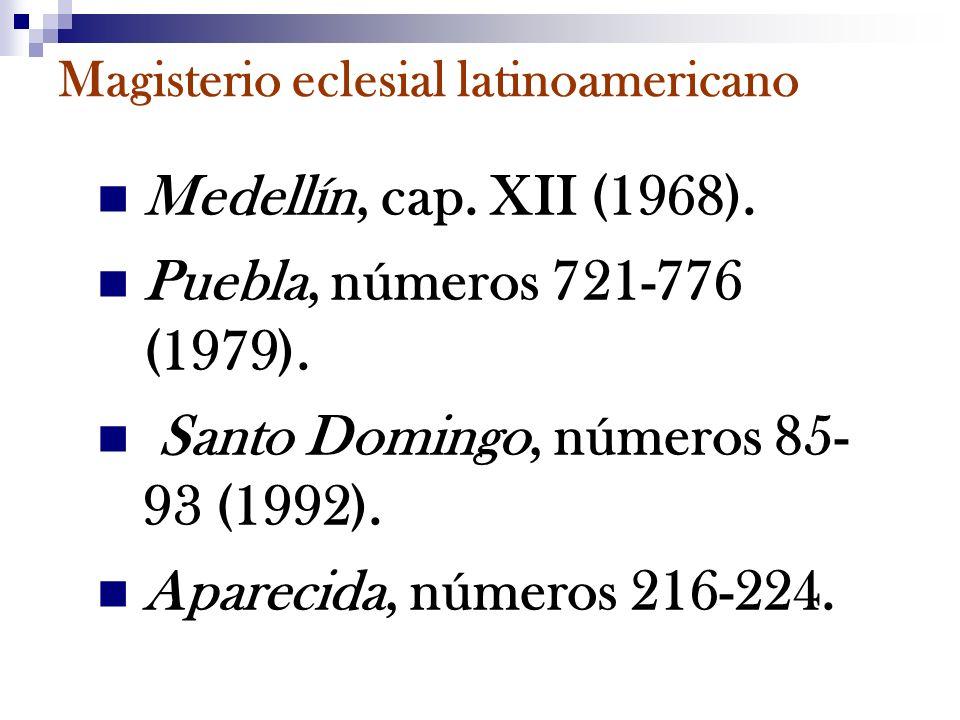 Magisterio eclesial latinoamericano