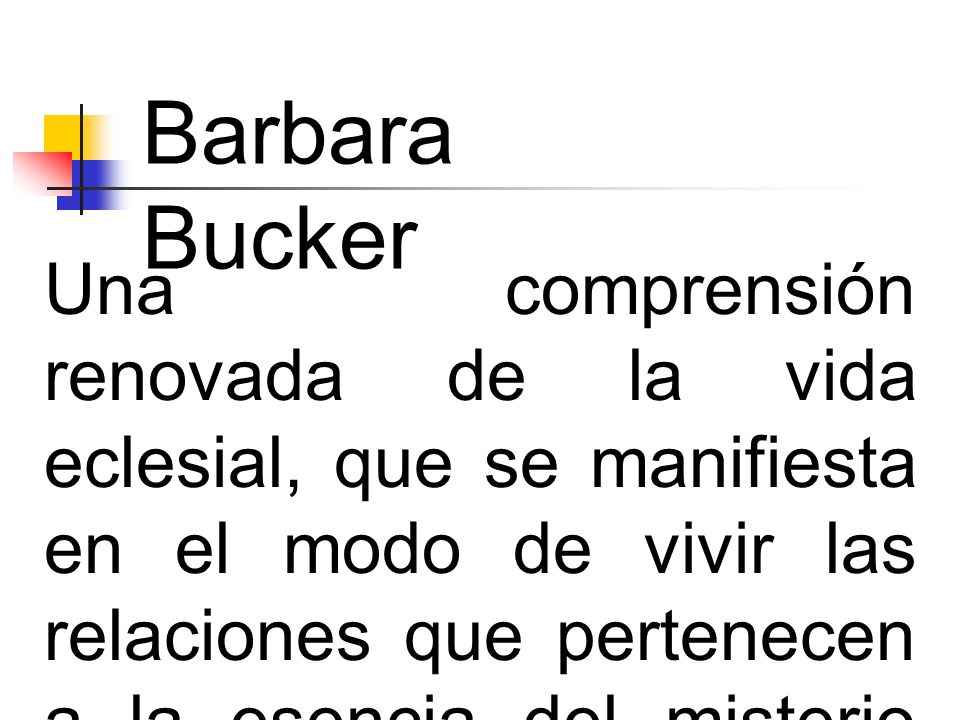 Barbara Bucker