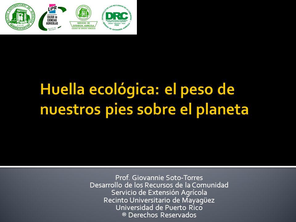Huella ecológica: el peso de nuestros pies sobre el planeta