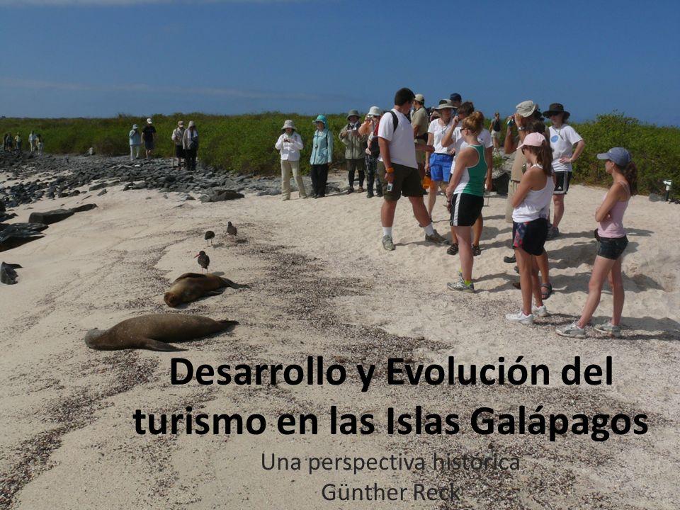 Desarrollo y Evolución del turismo en las Islas Galápagos