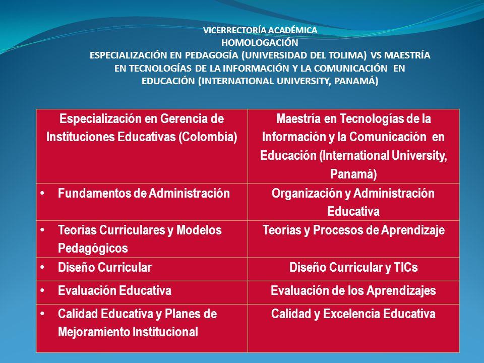 Especialización en Gerencia de Instituciones Educativas (Colombia)